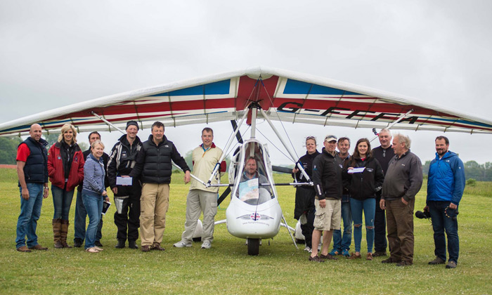 Around Britain with Flying For Freedom