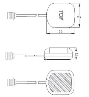 TA50 - Compact GPS Antenna - Trig Avionics